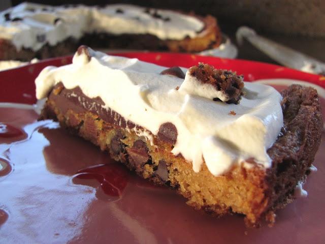 Chocolate Chip Cookie and Cream Tart | Chocolate Moosey