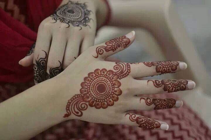 Bridal Mehndi Tiki : Lastest mehndi design tiki style cuonun