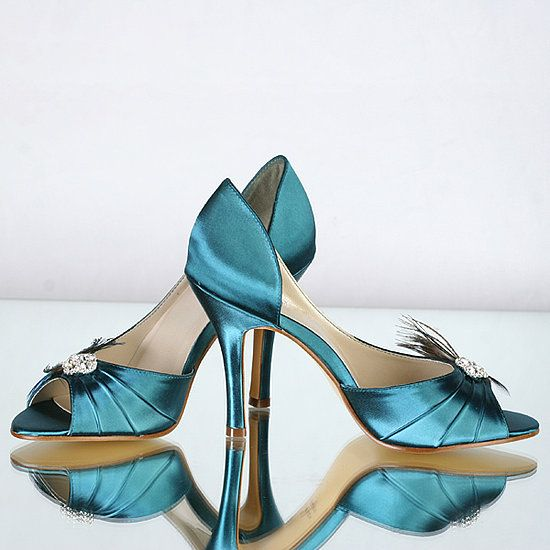 Teal Wedding Shoes 004 - Teal Wedding Shoes