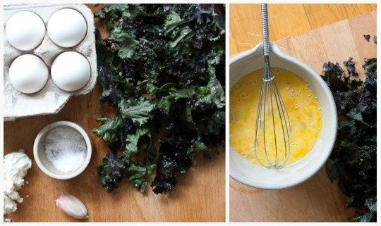 Easy Breakfast Recipe: Kale and Goat Cheese Frittata Cups
