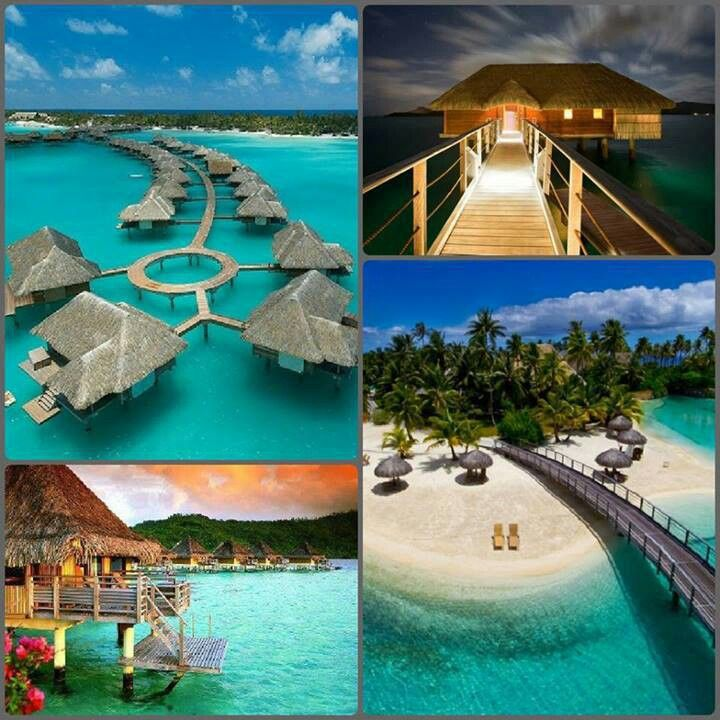 Bora bora vs maldives places good for the soul pinterest for Nice places to go for honeymoon