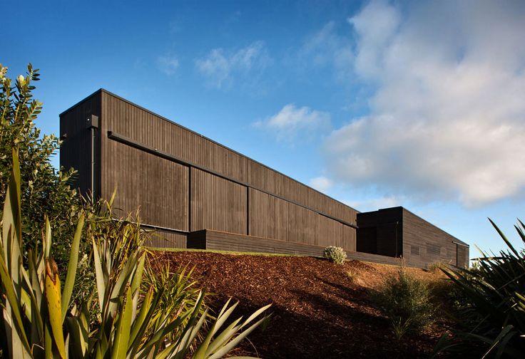 modern house timber