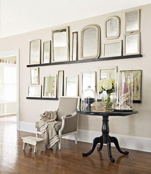 Mirror Wall Display