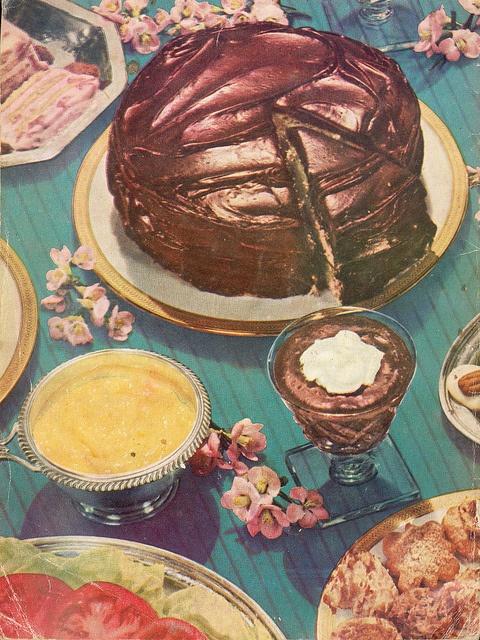 70s dessert | Food Fotos | Pinterest