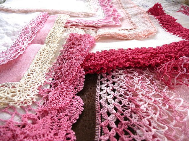 Vintage Crochet Edgings crochet ideas & tutorials Pinterest