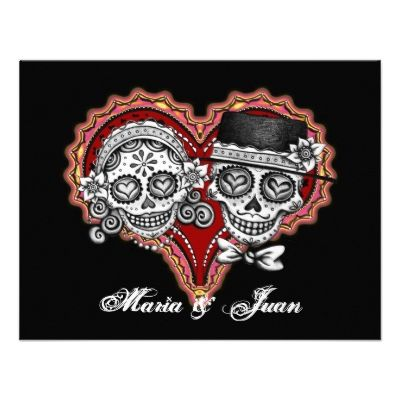 Day Of The Dead Wedding Invitations is one of our best ideas you might choose for invitation design