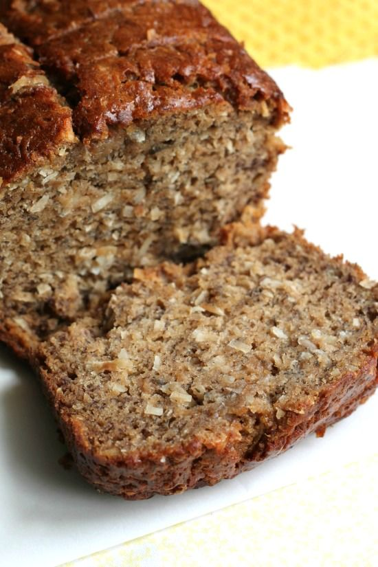 Coconut Rum Banana Bread | A Sweet Baker our Kōloa Dark Rum would be ...