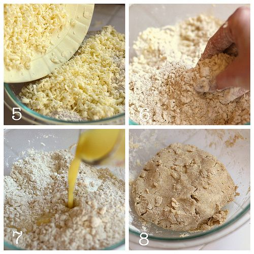 Easy Whole Grain, Shortening-Free Pie Crust, Version One