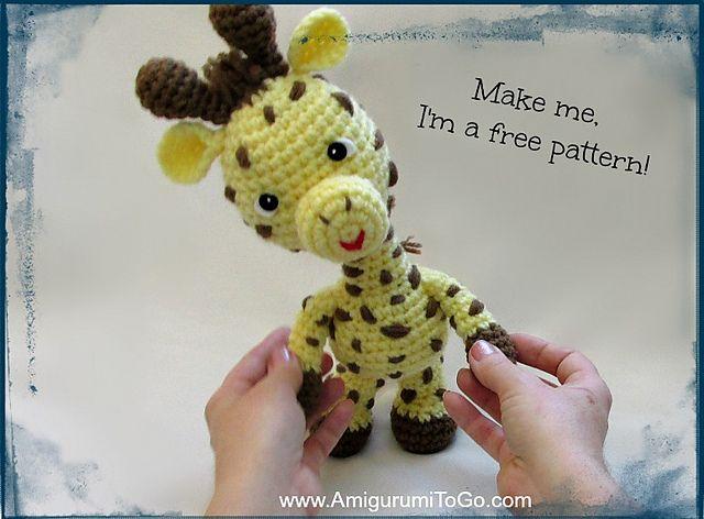 Amigurumi Little Bigfoot Panda : Little Bigfoot Giraffe Amigurumi Pattern Amigurumi To Go ...
