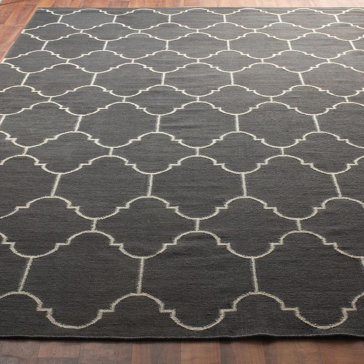 Moroccan Tile Dhurrie Rug: 4 Colors