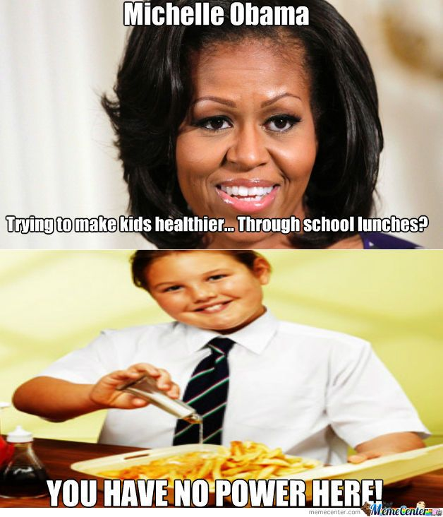 Funny First Lady Meme : Michelle obama school lunch funny humor pinterest