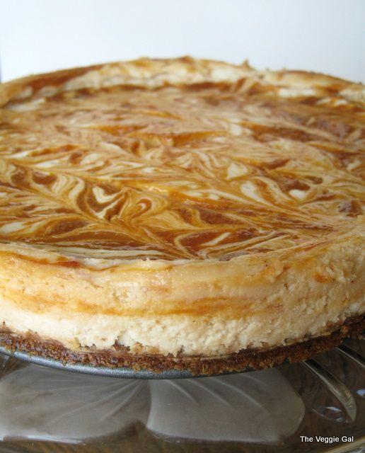 Pumpkin Swirl Cheesecake | I love pumpkin :o) | Pinterest