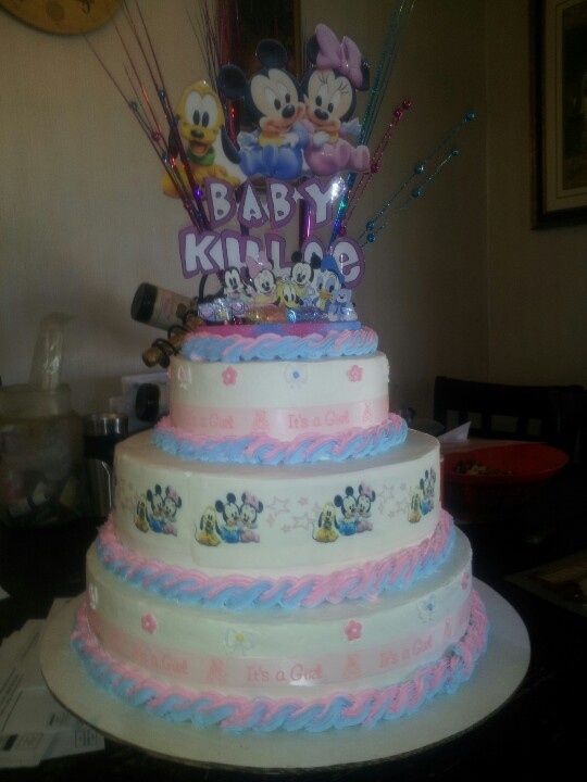 disney babies babyshower cake disney themed baby shower pinterest