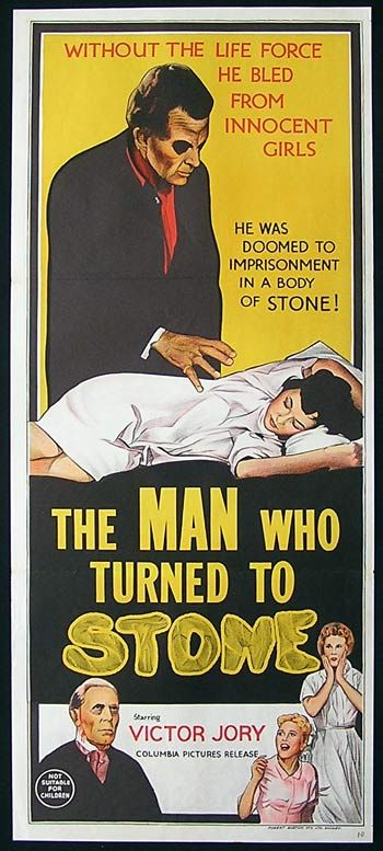 The man who turned to stone film posters pinterest