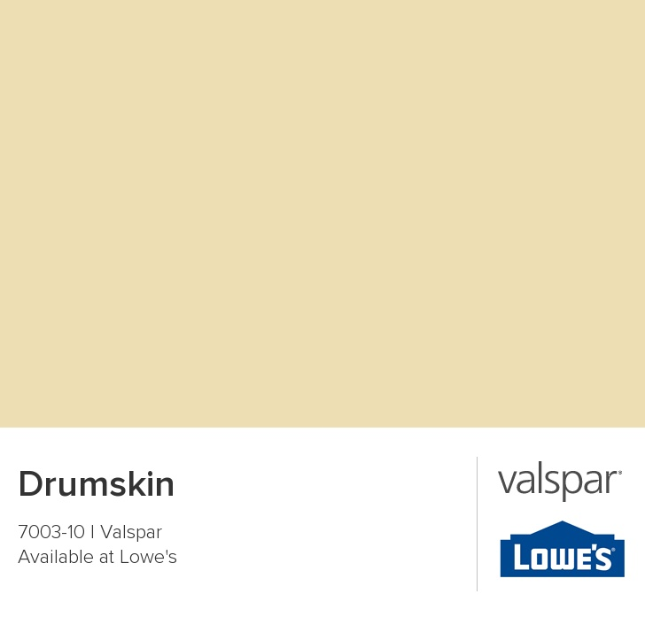 Drumskin by Valspar {neutral paint colors from Valspar}
