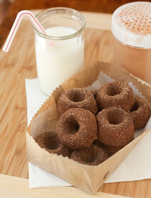 Baked Red Velvet Mochi Mochi Donuts Recipes — Dishmaps