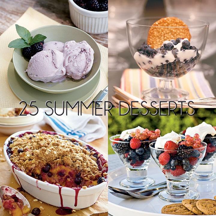25 Best Summer Desserts