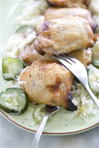 Sweet tea-brined and grilled chicken | Food | Pinterest