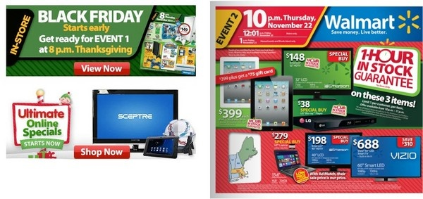 wal mart black friday ad released.