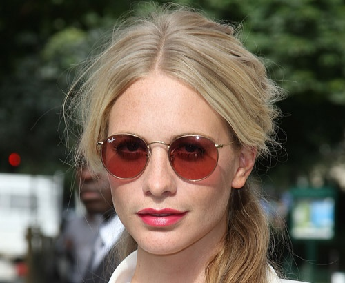 ray ban round celebrity