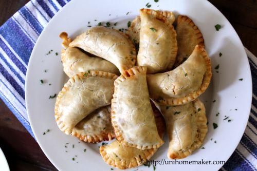 Beef Empanadas with Olives and Raisins | Empanadas y Calzones | Pinte ...
