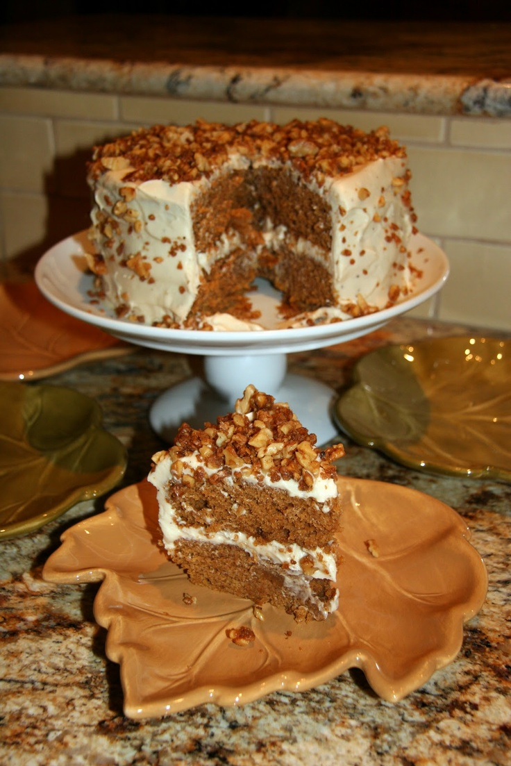 Brown Butter Pumpkin Layer Cake!! Cannot wait to make this again this ...