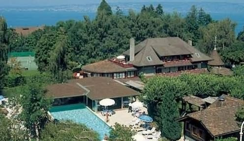 Hotel La Verniaz, Evian-les-bains, France.