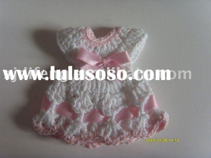 dress knitted baby shower favor wedding favor jacks baby shower