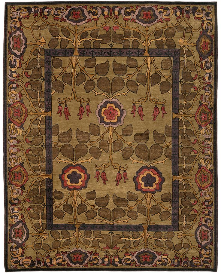 Inverness Nocturne carpet   Arts and Crafts   Pinterest