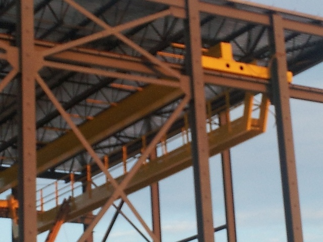 Richards wilcox overhead crane by wilcox door via flickr
