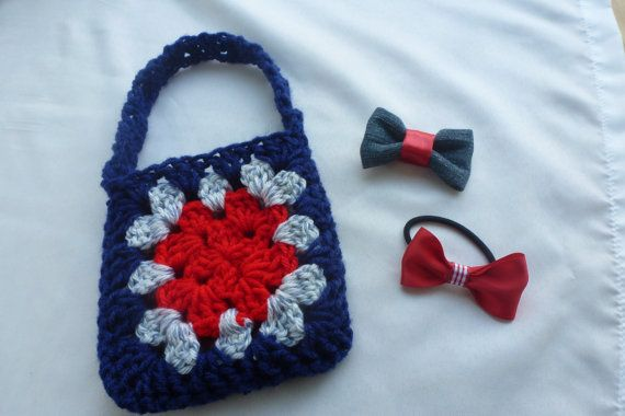 Toddler Purse and hair clip set little girl hand bag by AngieMade, $10 ...