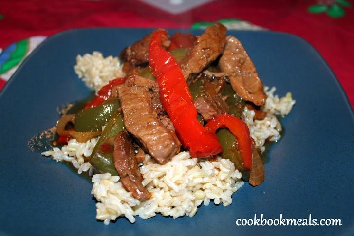 Slow Cooker Pepper Steak Recipe — Dishmaps
