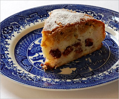 Frangipane Pear and Cherry Cake | Cakes | Pinterest