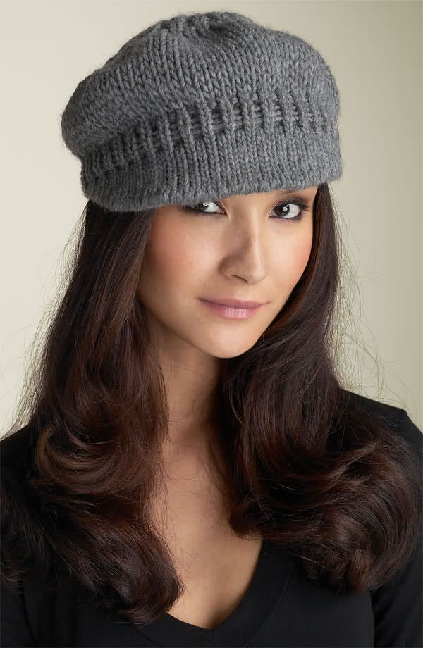 Knit Hat With Brim Pattern Free : Pin by Misty Simister on Knitting Pinterest