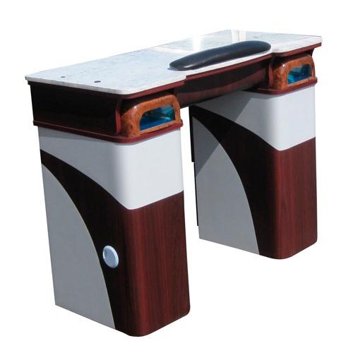 Event 2 gel table no uv light nail salon nail station for Nail desk light