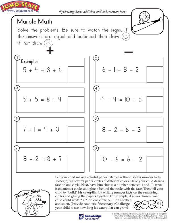 Pin by JumpStart .com on JS Math Worksheets | Pinterest