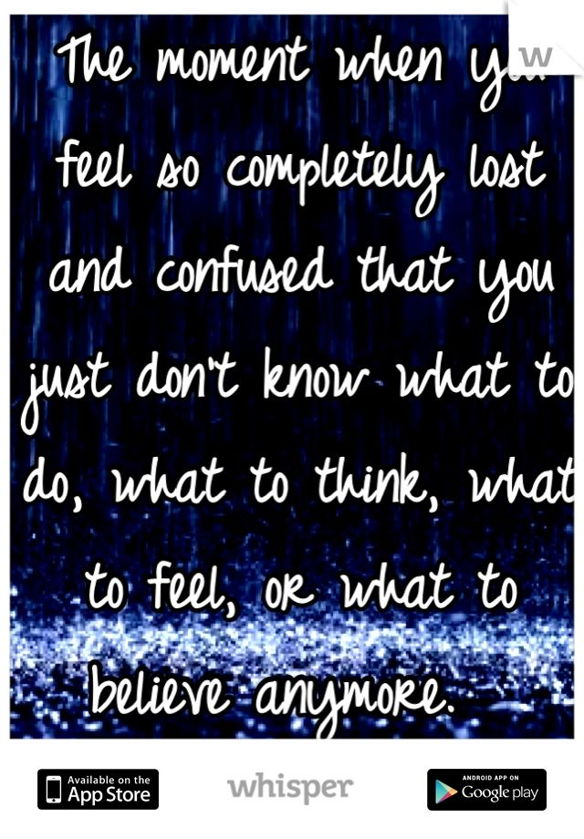 Feeling Confused Quotes. QuotesGram