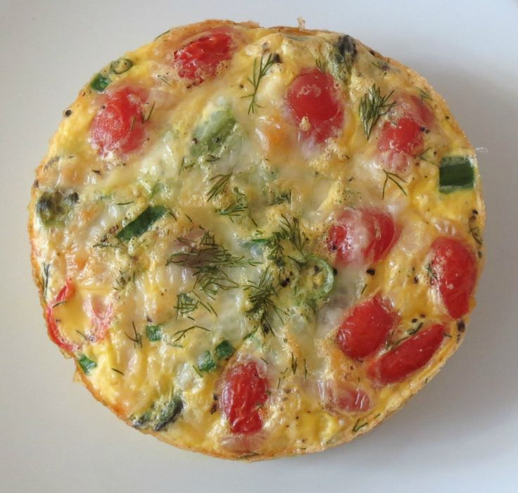 Asparagus and Tomato Egg Bake - Use whole eggs, whole milk, and raw ...