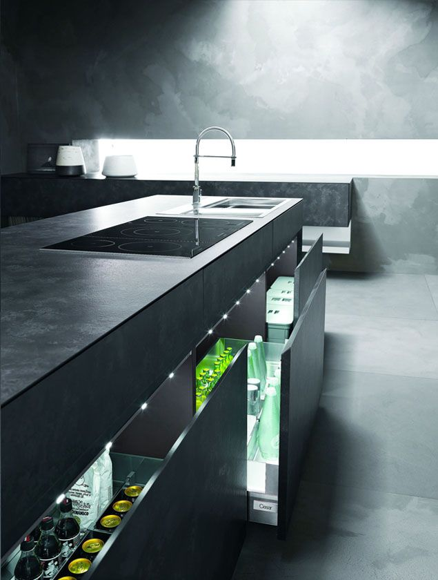 simple kitchen plan with l shape concept contemporary
