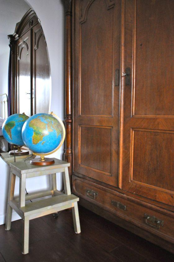met globe in Slaapkamer in Naarden na STIJLIDEE Interieuradvies ...