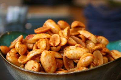 Chili-Lime Peanuts | Recipes to Make | Pinterest