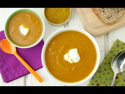 Spiced Carrot Cauliflower Soup Video: New Year New You