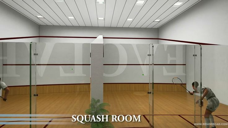 Indoor Squash Court Sports City Pinterest