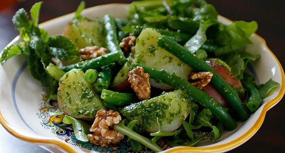 Potato and Green Bean Salad with Arugula Pesto* Recipe