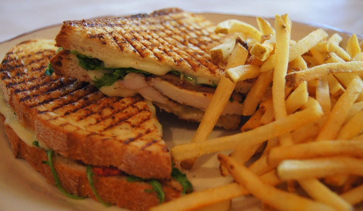Grilled Chicken Panini - Panini of the Day.
