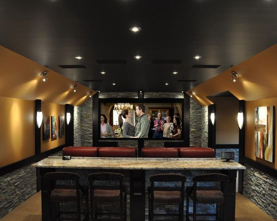 Home theater rooms design pictures remodel decor and Theater rooms design ideas