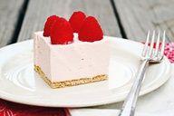 Raspberry Mousse Pie