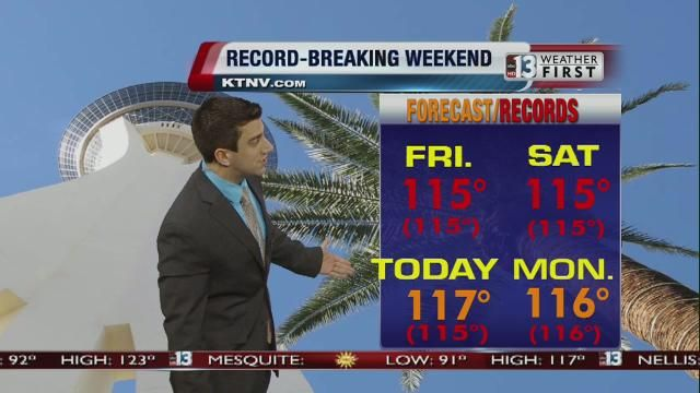 las vegas weather for memorial day weekend