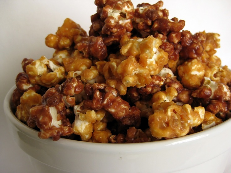 In the Long kitchen: Peanut butter and chocolate popcorn