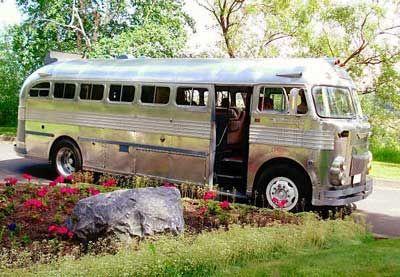 Prevost 1951 Rv Bus Conversion Amp Camping Pinterest